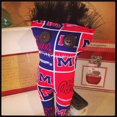 Ole Miss Ugg Lee Doll by artist Lindy Tate www.morethanwords.com