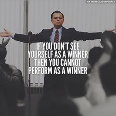 """Great #quote """"If you dont see yourself as a winner then you cannot perform as a winner"""" : JAMSO helps put life into your performance and performance into life http://www.jamsovaluesmarter.com"""