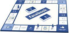 O designer gráfico Pat C. Klein criou um jogo de tabuleiro baseado no Facebook, num esforço para afastar os amigos da tela do computador para o chão da sala, e os resultados são maravilhosos.