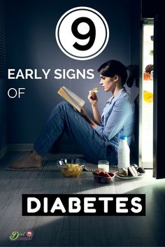 The early signs of diabetes can go unnoticed for years. In fact, 1 in 3 people don't know they have it. These are common symptoms of undiagnosed diabetes for both adults and children. See them all here http://www.dietvsdisease.org/9-early-signs-of-diabetes-symptoms-in-adults-and-children/