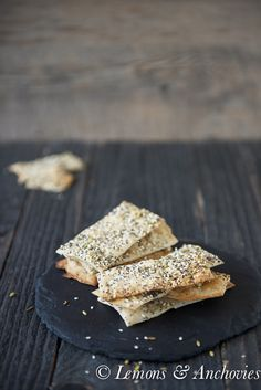 Homemade Seeded Crackers: after making them at home, you might not ever be happy with the store-bought ones.