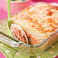Potato salmon and crème fraîche gratin recipe Salmon Recipes, Fish Recipes, Meat Recipes, Seafood Recipes, Savoury Recipes, Oven Baked Salmon, Keto Salmon, My Best Recipe, Fish And Seafood