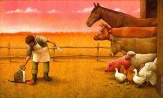 Глубочайшие карикатуры Павла Кучински, заставляющие переосмыслить мир
