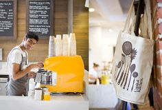 Capital Kitchen in Melbourne, a warm style grocery store