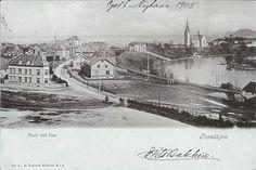 Sør-Trøndelag fylke Trondheim  TRONDHJEM. Ilen  Utg A. Holbæk Eriksen 1905
