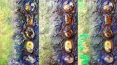 Continua il Work in Progress del mio primo Art Journal ! Finalmente prende i toni che avevo in mente quando ho iniziato passaggio dopo passaggio !    #archidee #bepositive #becreative #polymerclay #polymerclaycreations #polymerclayart #polymerclayartist #fimo #fimocreations #fimoart #cernit #cernitclay #sculpey #sculpeyclay #sculpeyprojects #workinprogress #wip #artjournal #artjournaling #artjournalcover #cover #resin #resincabochon #cabochon #flourish #flourishing #artsy #instacreation…