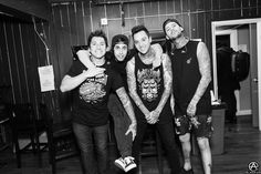 Pierce The Veil on the Second Leg of The World Tour. prints available- http://prints.adamelmakias.com