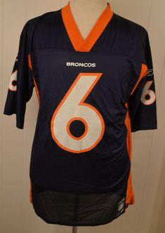 Reebok Denver Broncos NFL Replica Jersey  6 Jay Cutler Adult Medium Blue   Reebok   8cdd37f16