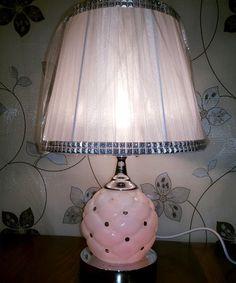 Ellie Classy White Table Lamp