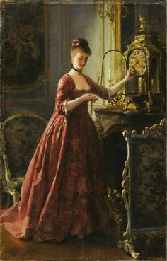 By Alfred Stevens