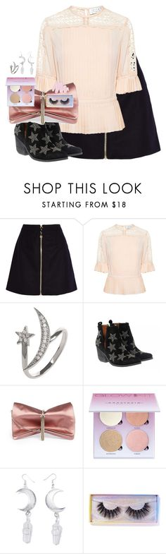"""Untitled #2573"" by purplicious ❤ liked on Polyvore featuring Acne Studios, Tanya Taylor, Latelita, Jeffrey Campbell, Jimmy Choo, Anastasia Beverly Hills, Witch Worldwide, Featherella and Obsessive Compulsive Cosmetics"