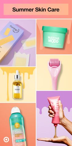 Get your glow on with summer skin care, sun care products, makeup & more for at-home pampering. Beauty Care Routine, Best Skin Care Routine, Self Care Routine, Beauty Hacks, Scar Remedies, Dark Spots On Face, Sun Care, Summer Skin, Summer Beauty