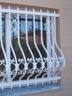 Wooden Window Design, House Window Design, House Gate Design, Door Gate Design, Unique House Design, Railing Design, Balcony Grill Design, Window Grill Design, Wrought Iron Stair Railing