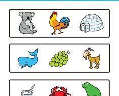 Intrsusos_intruso_pictogramas_ARASAAC_3 Preschool Worksheets, Classroom, Comics, Ideas, Special Needs, Special Education, Activities, Phonological Awareness, Dyslexia