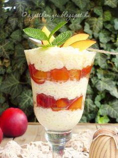 Desserts In A Glass, Fudge, Tiramisu, Food And Drink, Pudding, Cake, Cakes, Yogurt, Custard Pudding