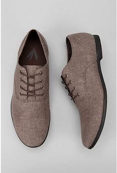 Canvas Oxfords...if the groomsmen do not go with the converse then I think  that these shoes would be an amazing contender. LOVE THEM!!