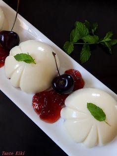 Panna Cotta, Pudding, Cream, Ethnic Recipes, Desserts, Blog, Creme Caramel, Tailgate Desserts, Dulce De Leche