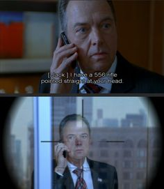 President Charles Logan and Jack Bauer; Season 8