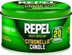 Repel 64090-1 Citronella Insect Repellent Outdoor Candle, 10-Ounce, Pack of 6 Repel