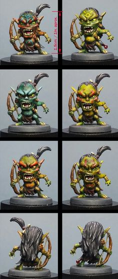 Goblins from Arcadia Quest Painted by Maenas