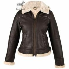 Extra Off Coupon So Cheap Leather Jacket for Women New Ladies Genuine Aviator Flying with Detachable Hood Winter Leather Jackets, Men's Leather Jacket, Leather Men, Real Leather, Black Leather, Aviators Women, Black Aviators, Shearling Jacke, Sheepskin Jacket