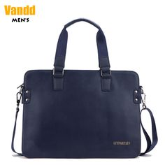 Aliexpress.com : Buy Vandd Men's Blue Genuine Leather Casual Tote Handbag Crossbody Shoulder Messenger Bag Business Briefcase from Reliable leather shoulderbags suppliers on Vandd Men. $52.00