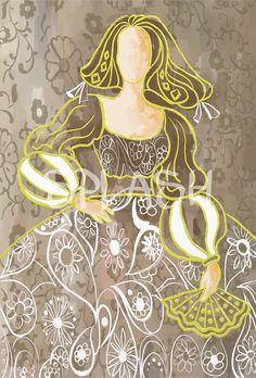 SP195 Zentangle, Painting People, Princess Zelda, Disney Princess, Ballet, Stencils, Disney Characters, Fictional Characters, Abstract Art
