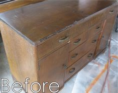 Stained Dresser