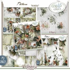 Nature by Célinoa's Designs http://digital-crea.fr/shop/index.php?main_page=index&manufacturers_id=184