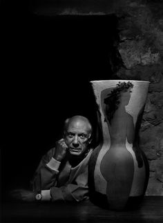 Yousuf Karsh | Pablo Picasso (1954) | Available for Sale | Artsy
