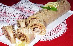 Perníková roláda s citrónovou polevou – Hančiny Sladkosti.net Cheesesteak, Treats, Sweet, Ethnic Recipes, Food, Lemon, Sweet Like Candy, Candy, Goodies