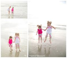 29 tips for beach photography and inspiration. Perfect ideas for capturing young children's first time at the ocean and/or beach.