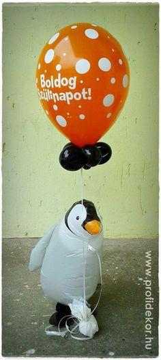 Sétáló pingvin - léggömb! - profidekor Snowman, Disney Characters, Fictional Characters, Art, Art Background, Kunst, Snowmen, Fantasy Characters, Art Education