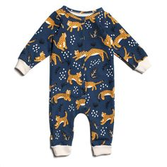 d9a63423fc11 Amazing offer on MilkBarn Organic Cotton Long Sleeve Footed Romper ...