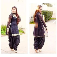 In pic Dm your traditional dress's related to punjabi culture and let the world know your tohar Only rule - Full suit has to be visible in picture Will not accept group DM ❌ Patiala Dress, Punjabi Salwar Suits, Patiala Suit, Indian Suits, Indian Dresses, Indian Wear, Punjabi Fashion, Asian Fashion, Eid Clothes