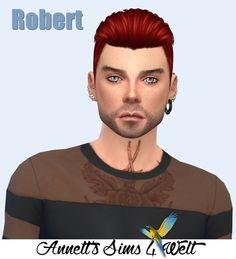 Annett's Sims 4 Welt: Model Robert