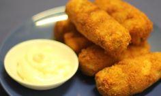 Chicken and potato croquettes
