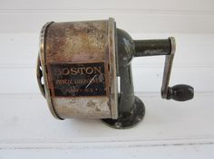 old school pencil sharpener - still have one mounted on the work table in the garage
