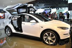 Watch the Tesla Model X on video testing in California | Inhabitat - Green Design, Innovation, Architecture, Green Building