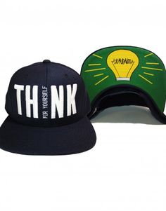 Think For Yourself Snapback Hat $19.95