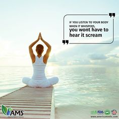 AMS natural products help you take care of your body, your most precious possession #quoteoftheday #quote #positivity #motivation #natural #supplements #vitamins #fertility #infertility #healthyliving #healthylifestyle #AMS #americamedicandscience