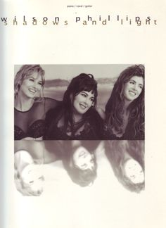 Wilson Phillips: Shadows & Light for Piano, Vocal & Guitar. £10.99