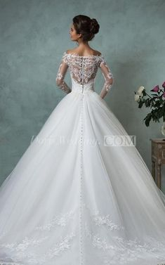 US$191.59-Sexy Off the Shoulder Lace Ball Gown Wedding Dress with Sleeves. https://www.doriswedding.com/a-line-ball-gown-empire-mini-jewel-v-neck-long-sleeve-bell-empire-dropped-appliques-court-train-backless-tulle-lace-dress-p713555.html. Free custom made service of any Winter Wedding Dress design & Free Shipping! Browse the complete selection of unique design wedding dresses, each featuring the latest design with careful attention to detail and amazing quality, fit to finish. #DorisWedding