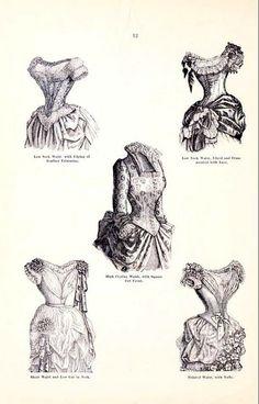 Hecklingers Ladies Garments 1886: Waists | Flickr - Photo Sharing!