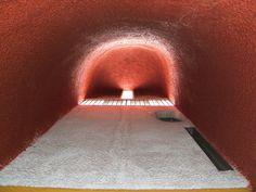Le Corbusier Ronchamp, Interior