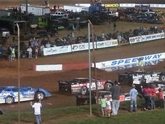 Earl Pierson Jr at Dixie speedway 2013