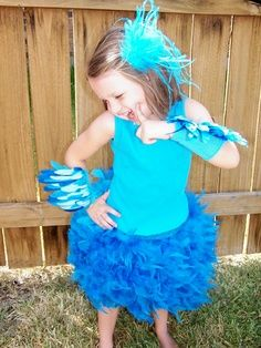 blue macaw costumes for kids -Blue rio