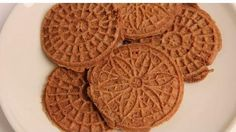 Chocolate Pizzelles Recipe - Laura in the Kitchen - Internet Cooking Show Starring Laura Vitale