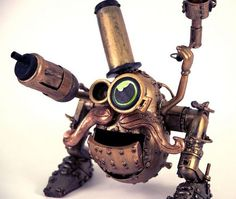 Steampunk Mr Potatohead. Just because you can!