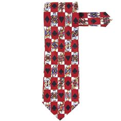 King And Queen All-Over Neck Tie